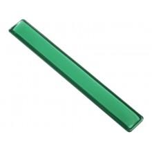 Poggiapolsi da tastiera in gel Q-Connect 49x5,5x2,3 cm verde KF20089