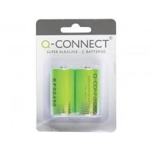 Batteria alcalina Q-Connect Baby/LR14 C 1,5 V conf.2 - KF00490