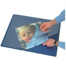 Sottomano con copertina Q-Connect 63x50 cm blu KF26807