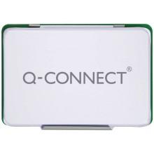 Cuscinetto per timbri Q-Connect 11x7 cm verde KF25210