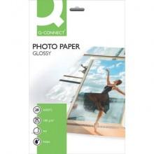 Carta fotografica Inkjet Q-Connect A4 bianco 180 g/m² lucida conf. da 20 - KF01103