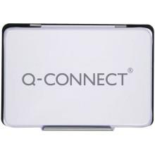 Cuscinetto per timbri Q-Connect 11x7 cm nero KF25211