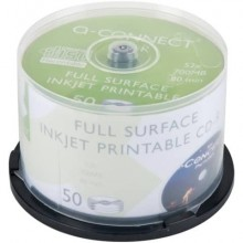CD-R stampabili Q-Connect spindle 700 MB 80 min 52x conf.50 - KF18020