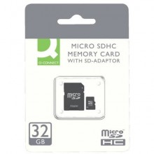 Scheda di memoria Q-Connect Micro SDHC 32 GB KF16013