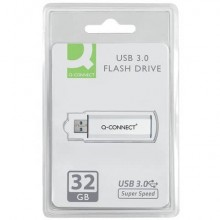 Chiavetta USB Q-Connect Super Speed 3.0 argento/nero 32 GB KF16370