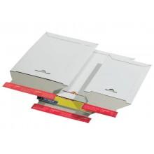 Busta rigida per spedizioni ColomPac in cartone ondulato f.to 17,5x25 cm bianco conf. da 20 - CP 012.01