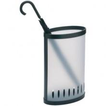 Portaombrelli Alba di forma ellittica con finestre per ventilazione abs/pvc traslucido - max fino 10 ombrelli -PMKIT