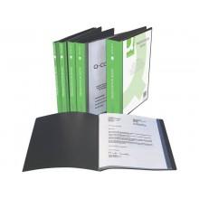 Portalistini personalizzabile Q-Connect A4 apertura superiore 20 buste KF01265