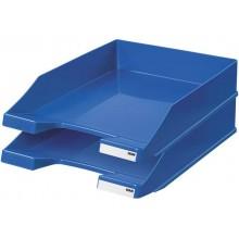 Vaschetta portacorrispondenza accatastabile KLASSIK A4/C4 HAN in polistirolo blu - 1027-X-14