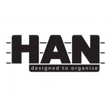 Portapenne LOOP HAN in polipropilene espandibile individualmente limone 17220-50