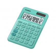 Calcolatrici da tavolo CASIO solare o batteria Verde MS-20UC-GN