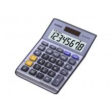 Calcolatrici da tavolo CASIO Extra Big LC solare e batteria display 8 cifre blu - MS-8VER II