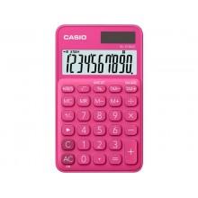Calcolatrici scientifiche CASIO tascabile 10 cifre - solare e batteria Rosso - SL-310UC-RD