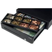 Cassetto portadenaro Safescan LD-4141 in metallo/plastica nero 132-0423