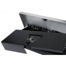 Cassetto portadenaro FLIP TOP Safescan SD-4617S in metallo grigio/nero 132-0498
