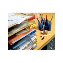 Nastro adesivo in tela tesa extra Power® Perfect plastificato 19 mm x 2,75 m giallo - 56341-00030-03