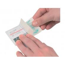 Pouches per plastificazione a freddo Q-Connect per carte di credito f.to 10x6.6 cm Conf. 10 pezzi - KF27057