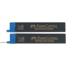 Mine Faber-Castell Super Polymer 0,7 mm HB astuccio da 12 - 120700