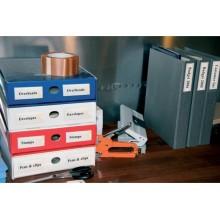 Etichette adesive permanenti Q-Connect 55x102 mm trasparenti conf. da 6 - KF27045