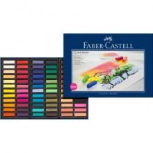Crete morbide Faber-Castell Soft Pastels Creative Studio mini assortiti astuccio di cartone da 72 - 128272