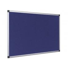 Bacheche Bi-office Maya feltro blu 120X90 cm. FA0543170-999