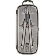 Balaustrone Faber-Castell Start a vite centrale con aste snodabili ottone nichelato - 174605
