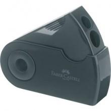 Temperamatite Faber-Castell Sleeve 2 fori con serbatoio nero 182700