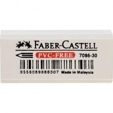 Gomma Faber-Castell 7086-30 per matita bianca 188730 (Conf.30)