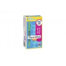 Penna Paper Mate InkJoy Gel 600 Stick M 0,7 mm verde 2022531 (Conf.12)