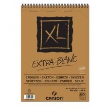 Album spiralato CANSON XL Extra White bianco 90 g/m² 120 fogli A4 C200787500