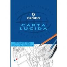 Blocco da disegno CANSON carta lucida bianco 80 g/m² 10 fogli A4 C200005825