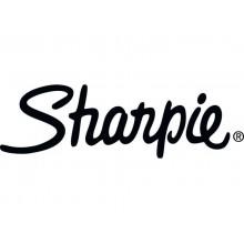 Marcatore permanente Sharpie Metallic F punta conica 3 mm argento 1891063