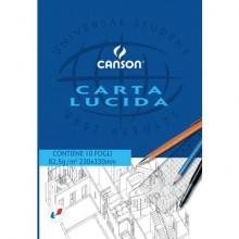 Blocco da disegno CANSON carta lucida bianco 80 g/m² 23x33 cm C200005826