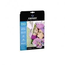 Carta fotografica inkjet CANSON PERFORMANCE 20 fogli A4 lucida su 2 lati Conf. 20 pezzi - C200004321