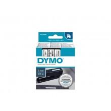 Nastro per etichettatrici Dymo D1 9 mm x 7 m nero/bianco S0720680