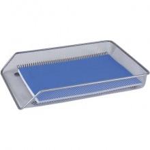 Vaschetta portadocumenti Q-Connect caricamento frontale 365x55x280 mm argento - KF00843