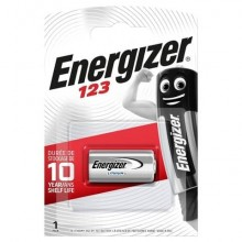 Batteria al litio ENERGIZER 123 Lithium Photo BP1 E300777602