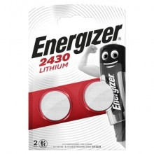 Batterie al litio a bottone ENERGIZER CR2430 conf. da 2 - E300830303