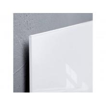Lavagna magnetica di vetro Sigel bianco  GL141