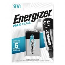 Batteria ENERGIZER Max Plus 9V  E301323303