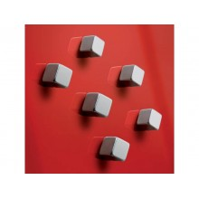 Magneti Sigel SuperDym C5 cubo strong argento conf. da 4+2 - GL192