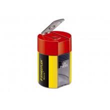 Temperamatite con contenitore Staedtler Noris Design 511 004 giallo-nero 511 004