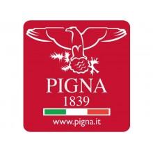 Cartella a 3 lembi con elastico PIGNA Monocromo Pastel in cartoncino con dorso 1,2 cm 26x34,5 cm assortiti - 02299023L (Conf.4)