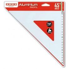 Squadra ARDA Linea Profil alluminio 45° cm 30 18032