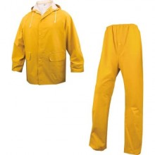 Giacche pioggia DELTA PLUS completo giacca e pantalone - cuciture saldate giallo - M - EN304JATM2