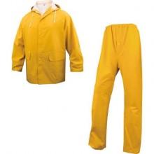 Giacche pioggia DELTA PLUS completo giacca e pantalone - cuciture saldate giallo - L - EN304JAGT2