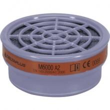 Filtri per semi-maschere Jupiter M6200 M6400 - guscio plastica e carboni attivi grigio kit 2 filtri - M6000EA2R