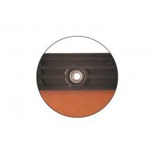 Cartelle sospese orizzontali per cassetti CARTESIO 38 cm fondo U 3 cm arancio Conf. 50 pezzi - 100/380 3 -B2