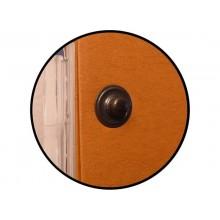 Cartelle sospese laterali per armadi CARTESIO PLUS 33 cm fondo U 5 cm arancio Conf. 25 pezzi - 314 M Link 5 -A2