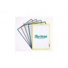 Buste portavvisi Tarifold® T-Technic - con gancio A4 assortito conf. 5 buste - 154509